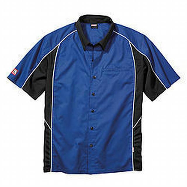 Talladega Crew Shirt Med Blue