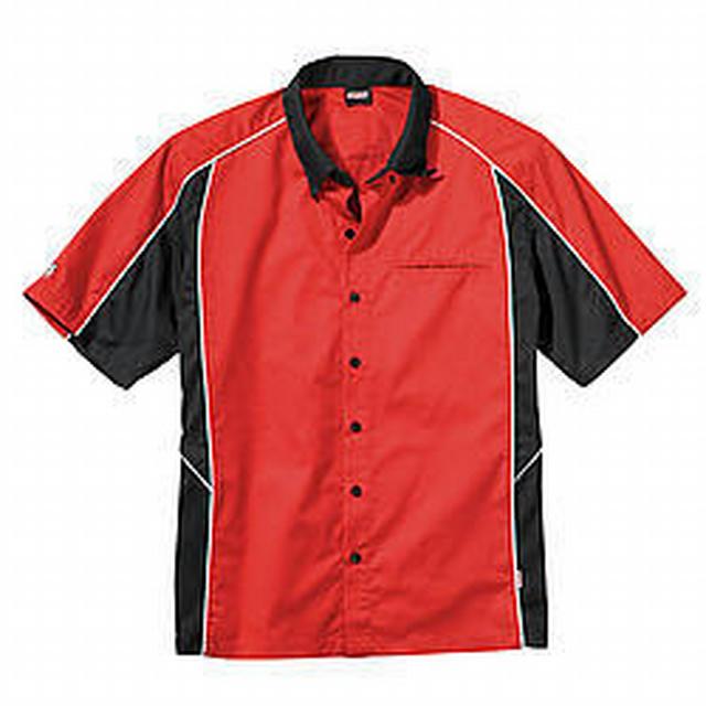 Talladega Crew Shirt Med Red