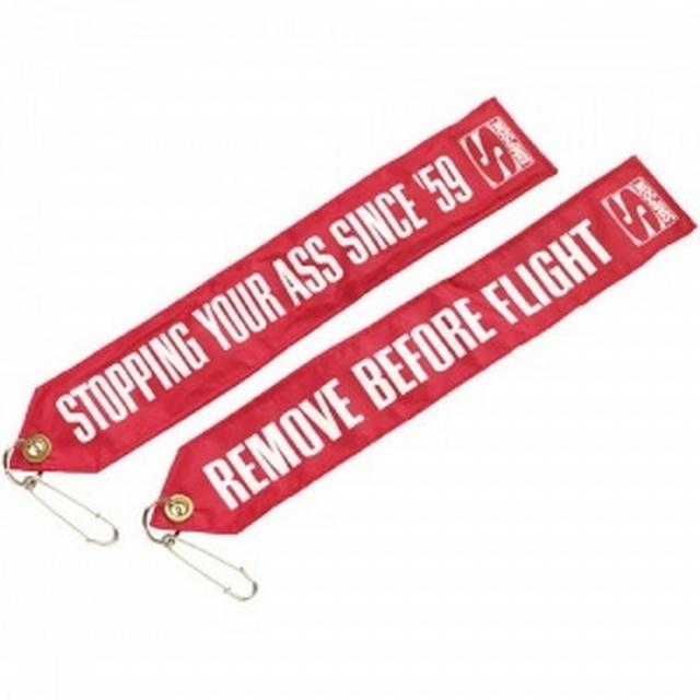 Chute Tag Remove Before Flight