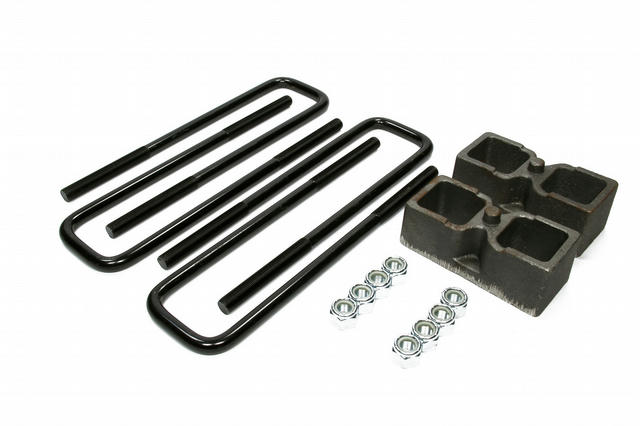 Rear Block Kit 2in with U-Bolts
