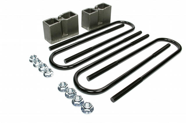 Rear Block Kit 3.5in with U-Bolts