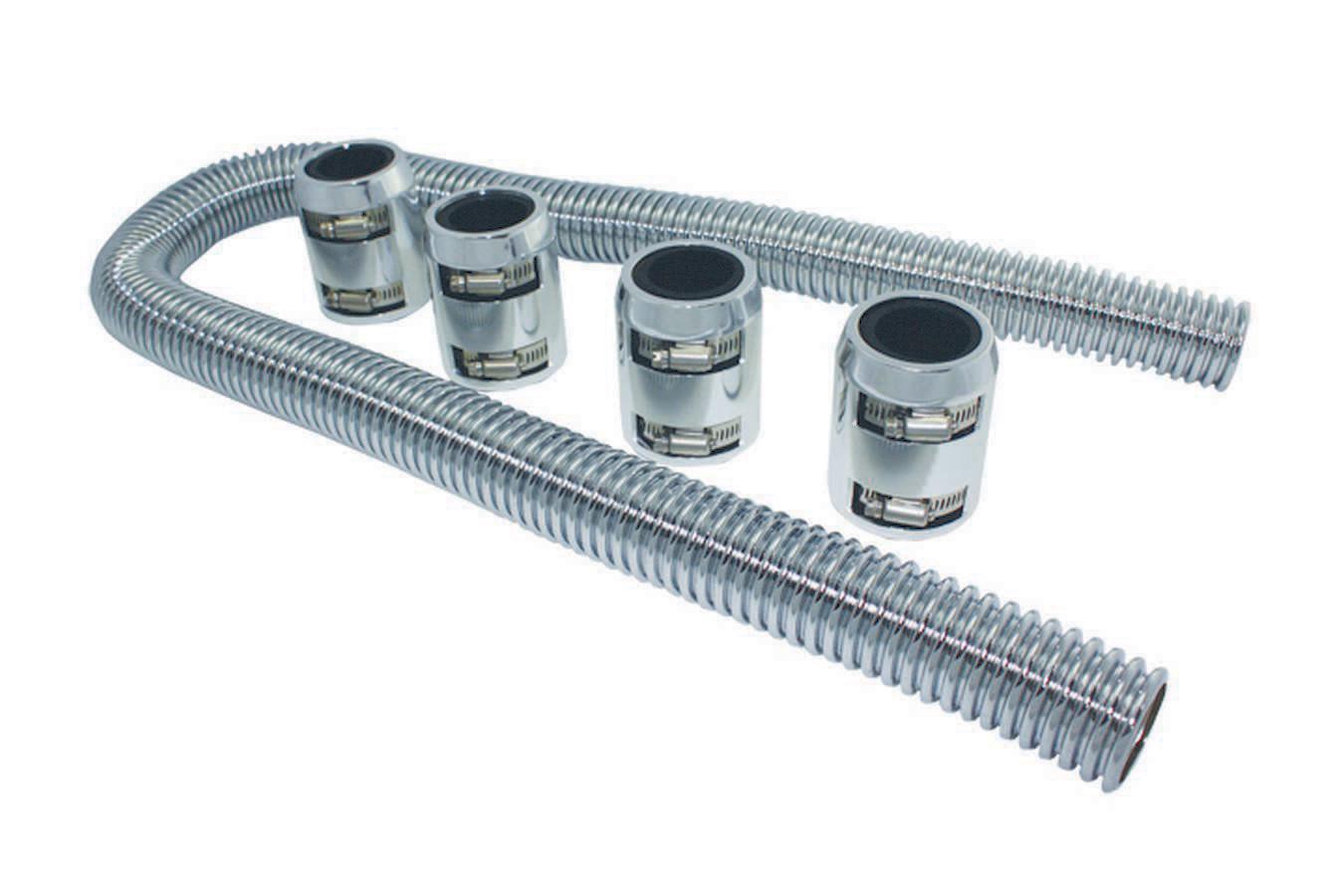 Radiator Hose Kit 48in w/Polished Aluminum Cap