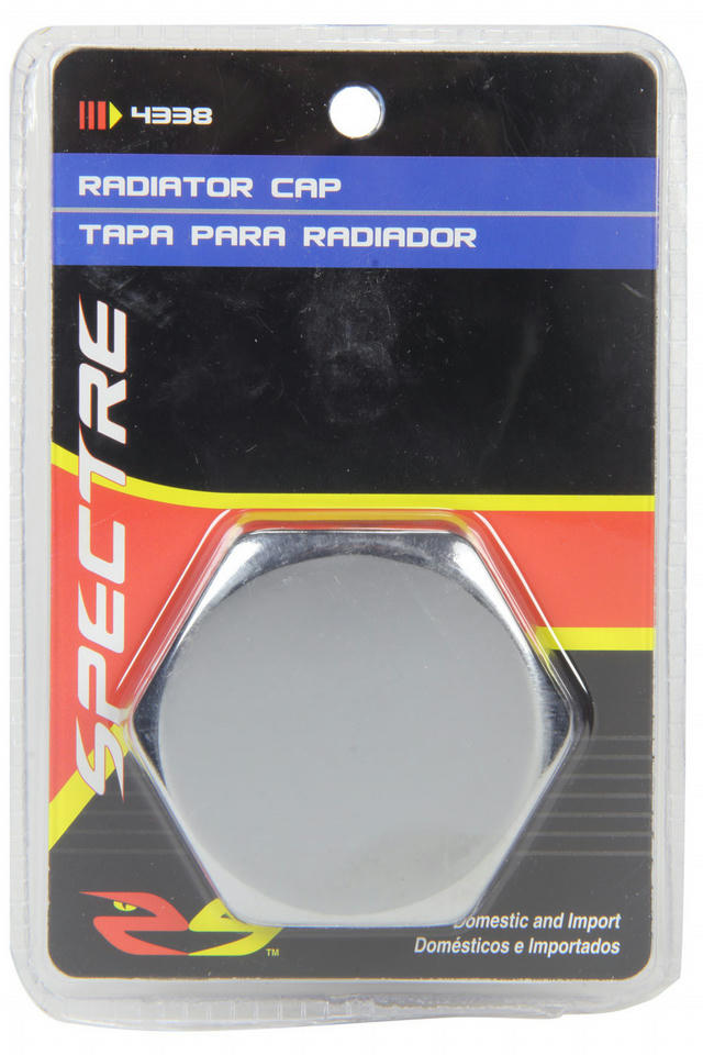 Hex One-Piece Radiator Cap- Chrome
