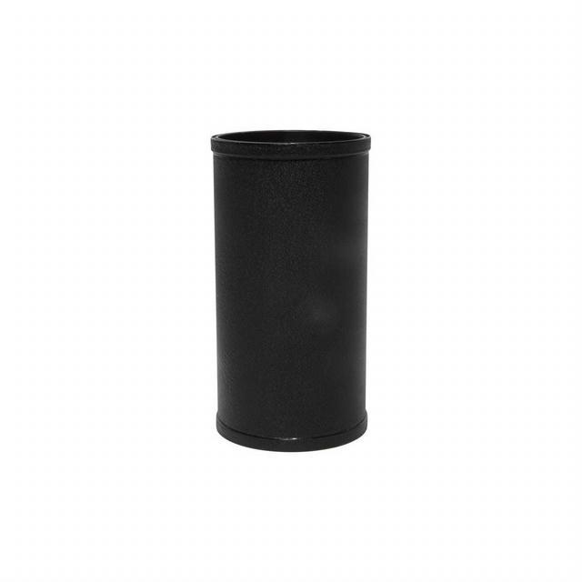 3in OD x 6in Long Tube Black