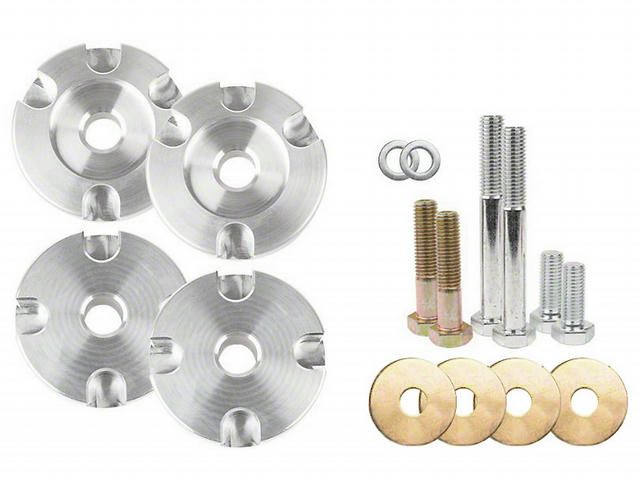 Alm Differential Bushing Inset Kit 15-21 Mustang