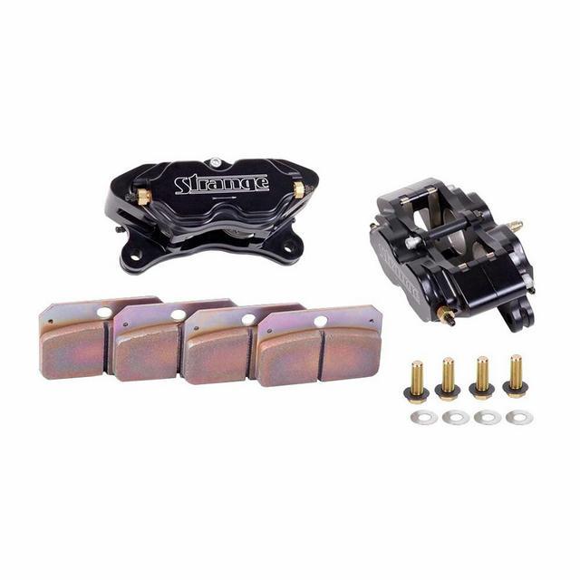 Strange 4-Piston Caliper Kit w/Hard Pads/Pr.