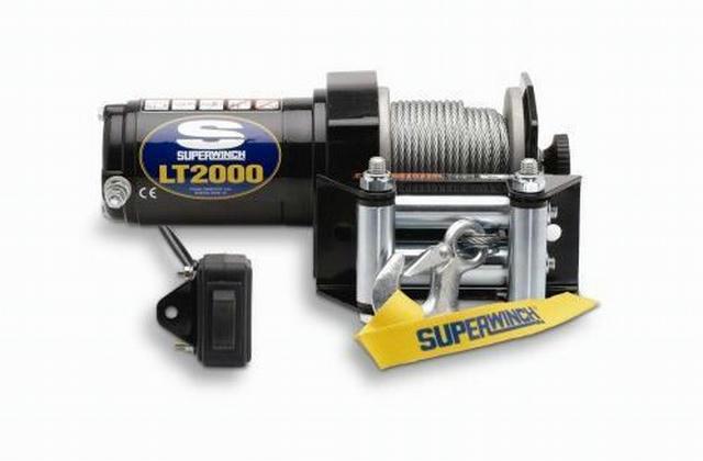 LT2000-2000# ATV Winch w/Roller Fairlead