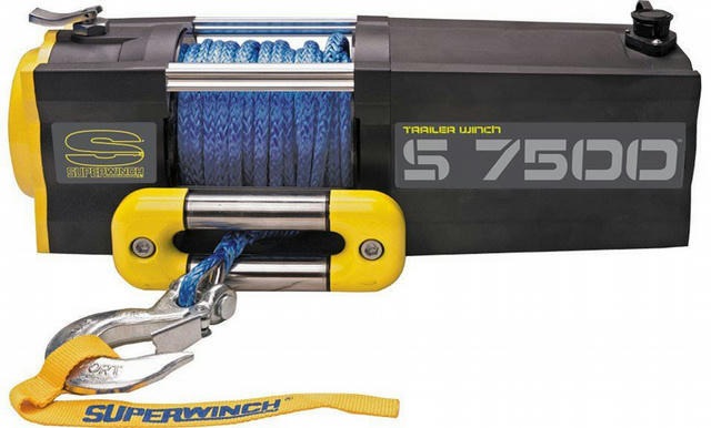 S7500-7500# Winch w/Roller Fairlead