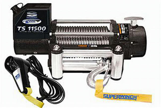 11500# Winch w/Roller Fairlead & 12ft Remote