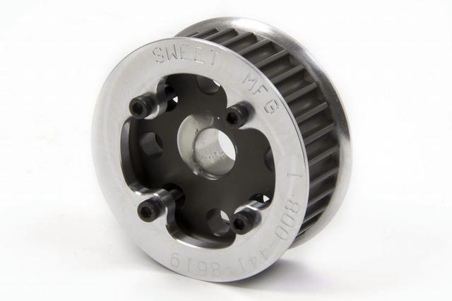 Pulley HTD 33 Tooth w/ Belt Guides