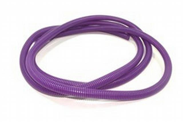 Convoluted Tubing 3/8in x 25' Purple