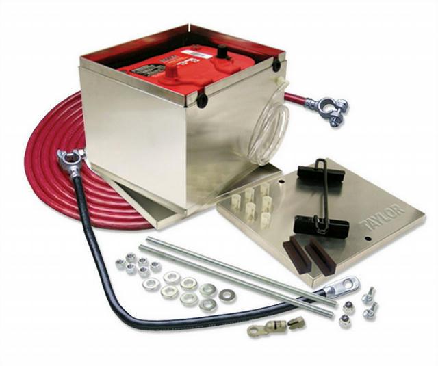 Aluminum 200 Series Battery Box w/2 ga Cable
