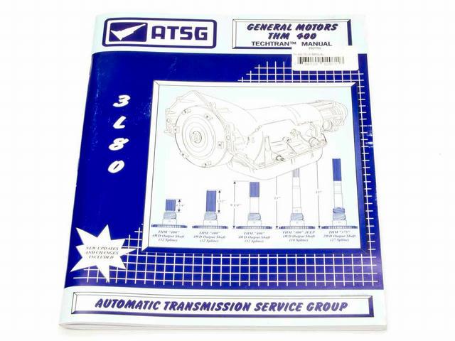 GM TH400 Tech Manual