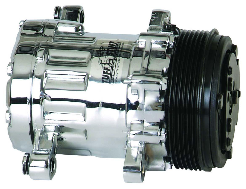 SD7 Peanut Compressor R134A Chrome Serpentine