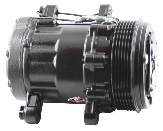 Peanut A/C Compressor 6 Groove Pulley Black