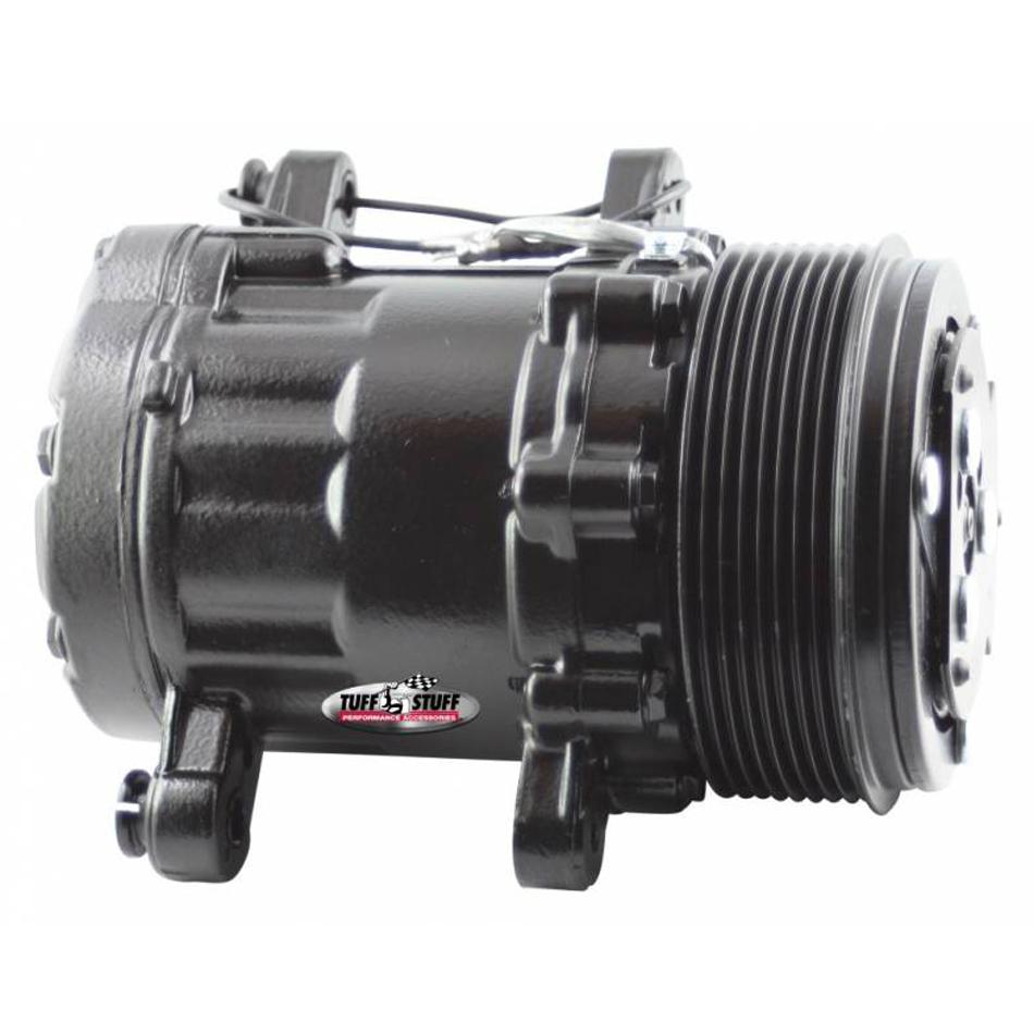 Peanut A/C Compressor R134A Black 8 Groove