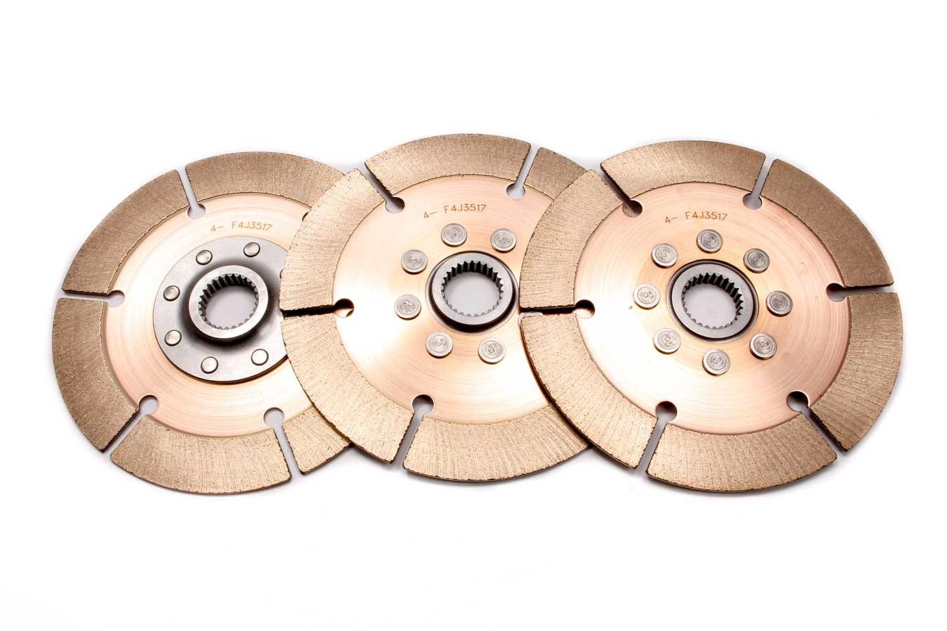 Clutch Pack 3 Disc 7.25 1-5/32 x 26spl Metallic