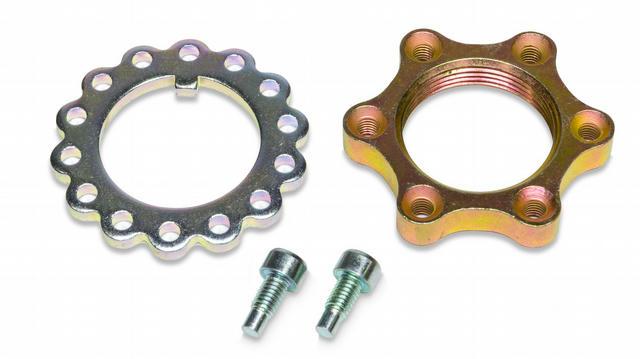 Steel Lock Nut Kit For Spindles Single