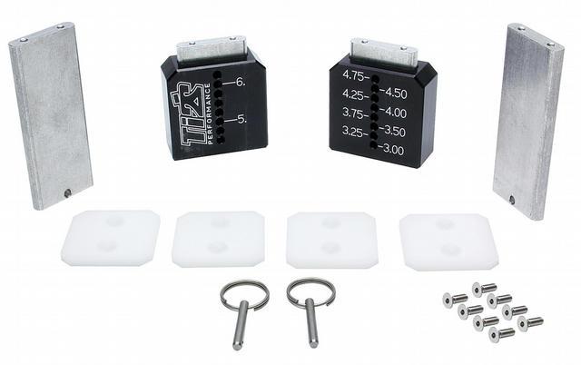 Ti22 Setup Blocks Tall Black 3in-6-1/4in