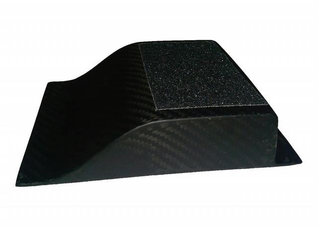 1-1/2in Heel Riser Carbon Fiber