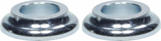 Cone Spacers Steel 1/2in ID x 1/4in Long 2pk