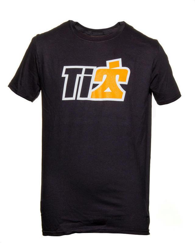Softstyle Ti22 Logo T-Shirt Black Small