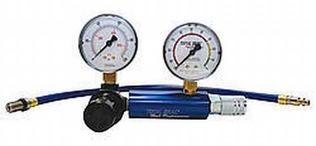 Dual Gauge Leak Down Tester