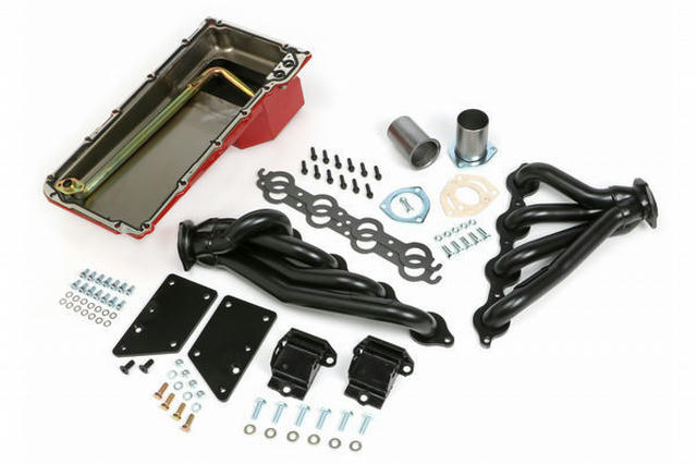 Swap In A Box Kit-LS Engine Into S-10