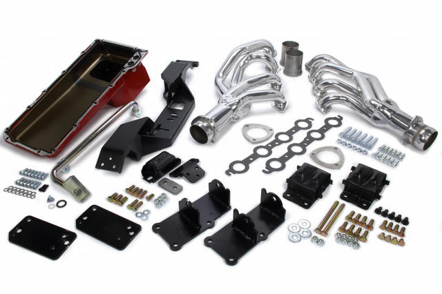 Swap In A Box Kit LS Engine Into 67-69 Camaro