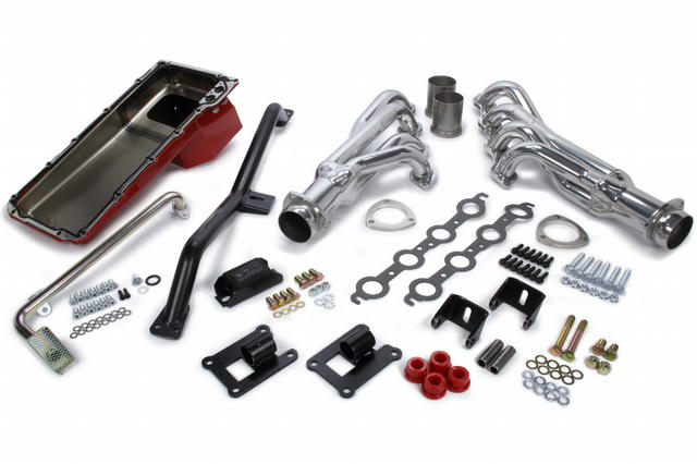 Swap In A Box Kit LS Engine Into 67-72 GM C11