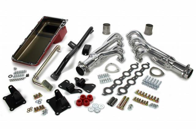 Swap In A Box Kit LS Engine Into 73-87 GM P/U