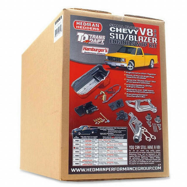TRANS-DAPT S10 ENGINE SW AP IN A BOX KIT
