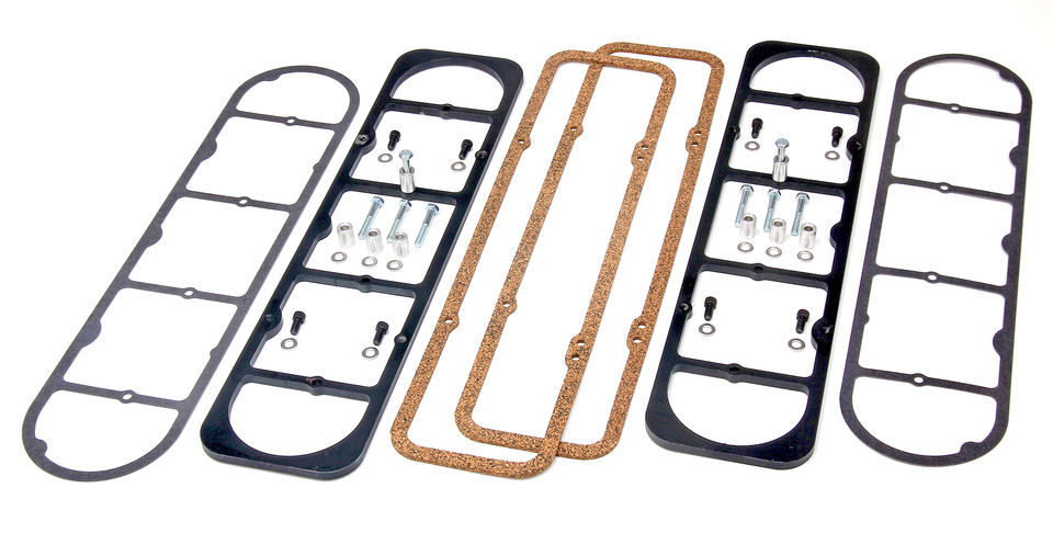 LS Valve Cover Adapter Plates for SB Chevy