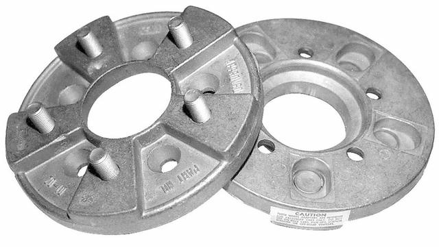 Wheel Adapters 4.5 x 5