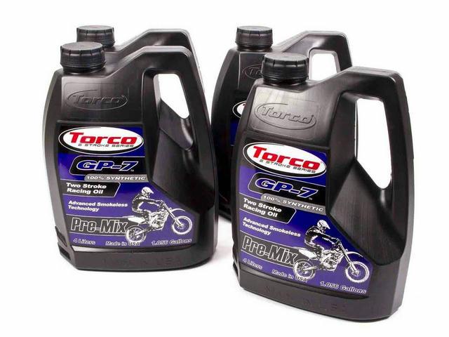 GP-7 Racing 2 Cycle Oil Case 4x1 Gallon