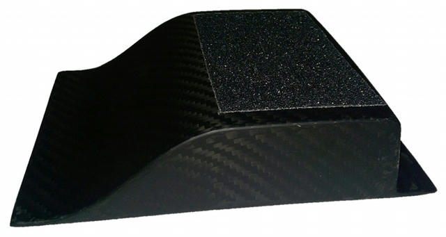 Heel Riser Carbon Fiber 1-1/2in