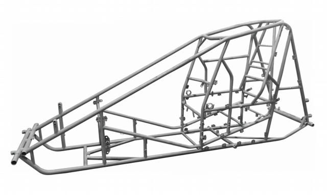 Sprint Car Chassis Bare Non-Wing 87-40