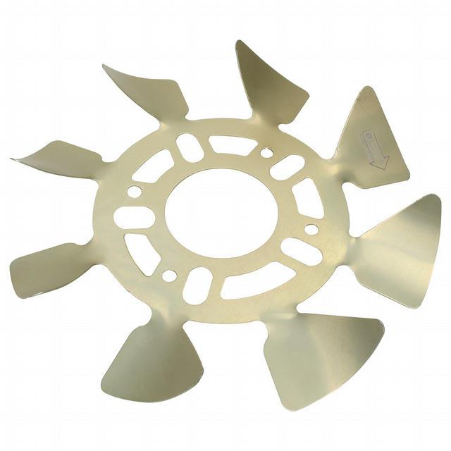 Brake Fan - RH Aluminum 5x4-1/2 to 5-1/8 w/ .625