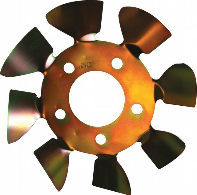 Brake Fan - LH 5x4-1/2 to 5-1/8 w/.625 Studs