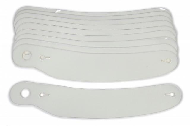 Tearoffs 13in Curved SIM Shark / Vudo