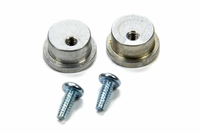 Aluminum Buttons Pair