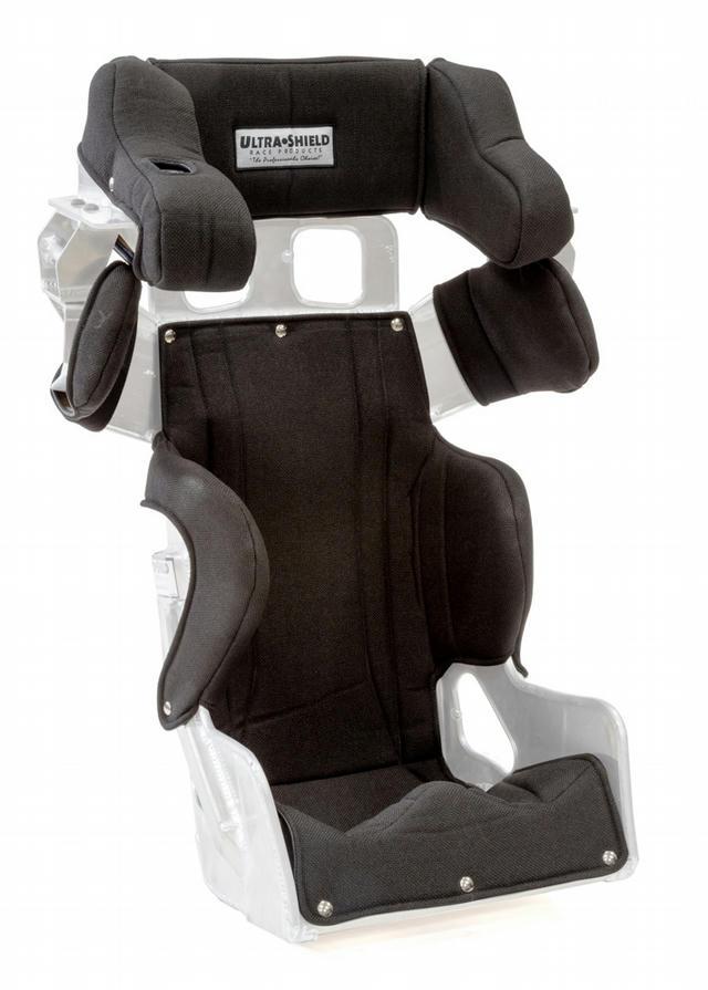 Seat Cover Black  16in & 16.5in SFI 39.2