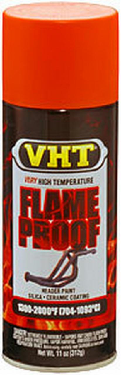 Flat Orange Hdr. Paint Flame Proof