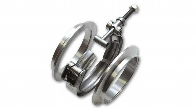 Aluminum V-Band Flange A ssembly for 2in O.D.
