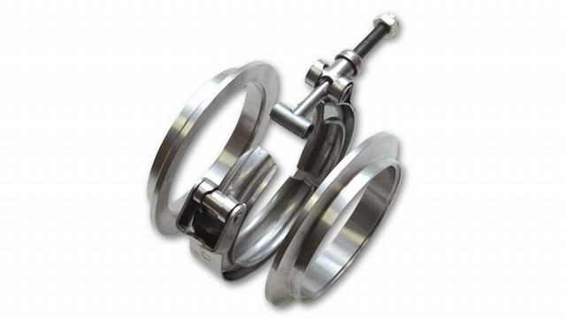 2.5in Aluminum V-Band Flange Assembly Each