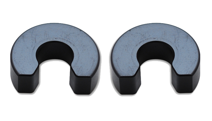 Exhaust Hanger Rod Clips (2 Pack) for 1/2in O.D.