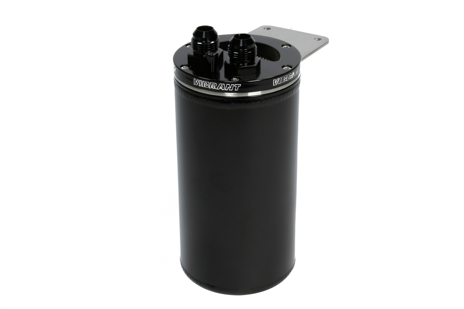 Universal Catch Can Black 2x -10AN Fittings