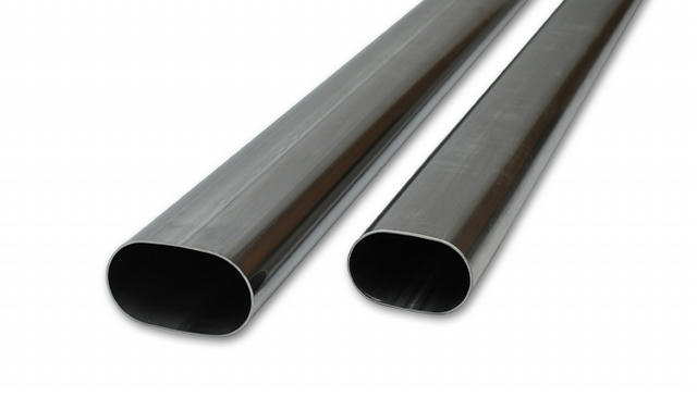 3.5In Oval T304 Stainles Steel Straight Tubing