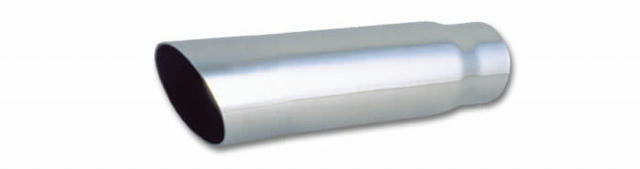 3in Round Stainless Stee l Tip Single Wall Angle