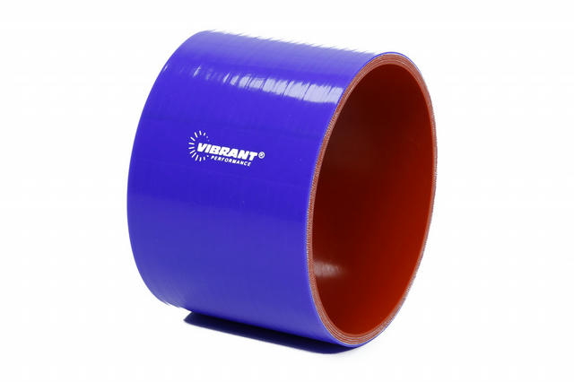 4 Ply Silicone Sleeve 4i n I.D. x 3in long - Blue